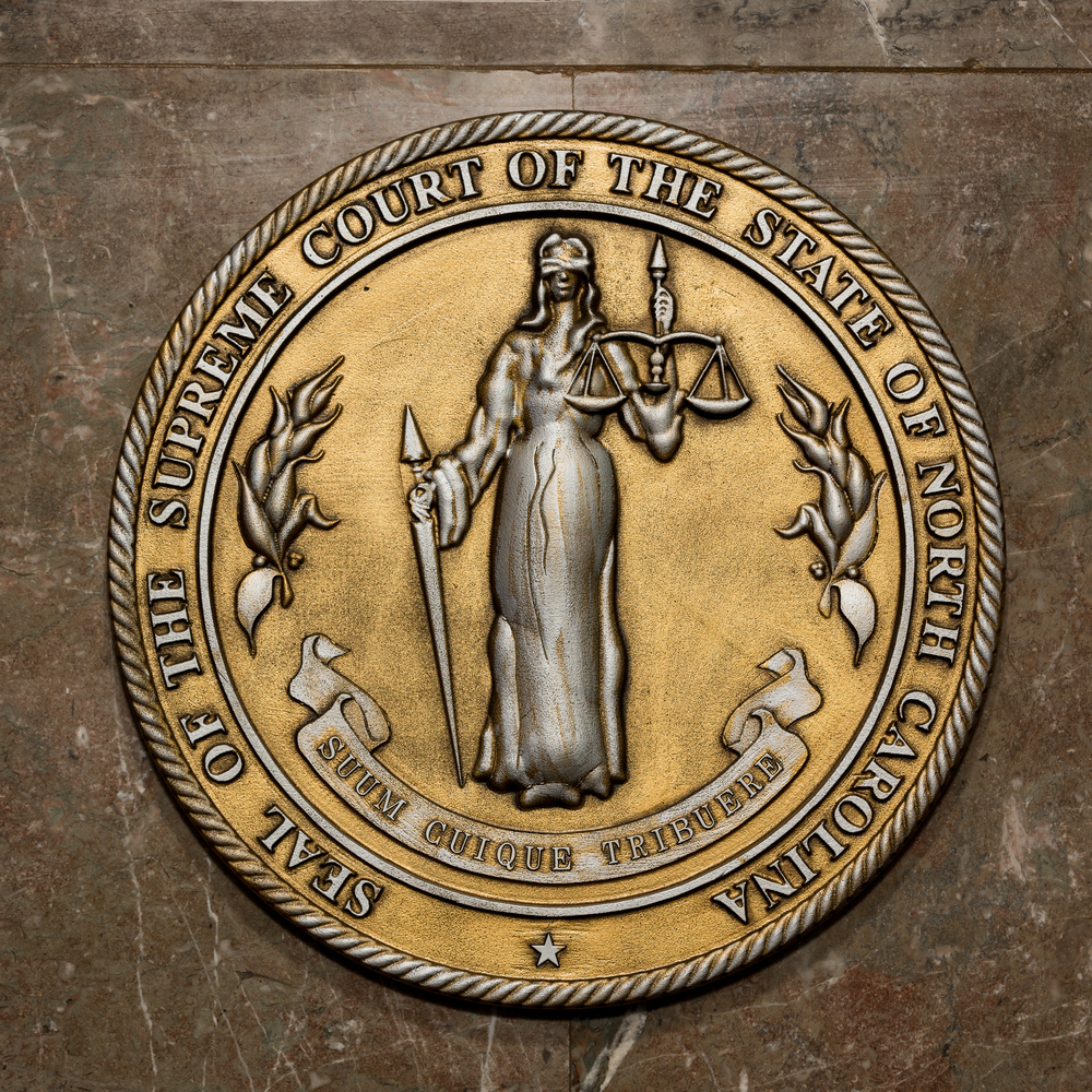 Wake Forest Appellate Attorney - Seal of the Supreme Court of North Carolina