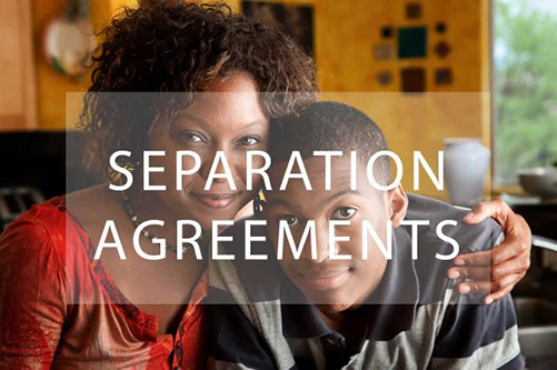 Separation agreements Wake Forest NC